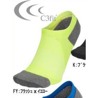 シースリーフィット(C3fit)のC3fit シースリーフィット アーチサポートソックス ランニング M 超美品(ウェア)