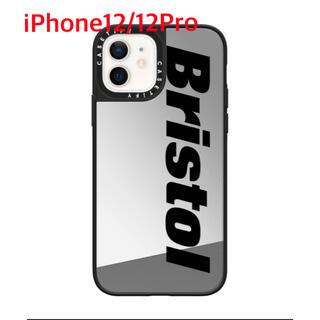 エフシーアールビー(F.C.R.B.)のケースティファイ ブリストル iPhone12/12Pro ミラーシルバーケース(iPhoneケース)