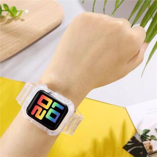 アップルウォッチ(Apple Watch)のApple Watch バンド クリア(ベルト)