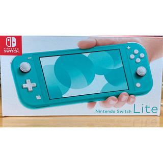 ニンテンドースイッチ(Nintendo Switch)のNintendo Switch  Lite ターコイズ  Switchライト(家庭用ゲーム機本体)