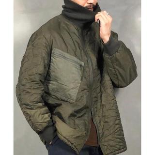 ヨウジヤマモト(Yohji Yamamoto)のvintage ドイツ軍 ライナー オリーブ キルティングジャケット ブルゾン(ミリタリージャケット)