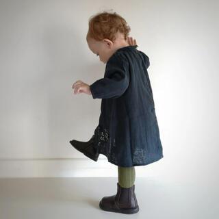 キャラメルベビー&チャイルド(Caramel baby&child )のEUREKA Beatles-Testa di moro 24サイズ(ブーツ)