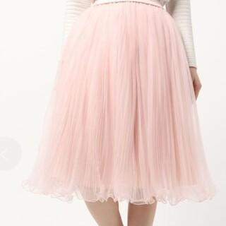 ダブルスタンダードクロージング(DOUBLE STANDARD CLOTHING)のダブルスタンダードクロージング チュールスカート(ひざ丈スカート)