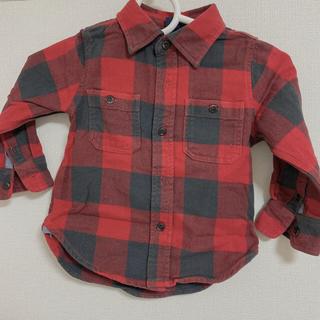 ベビーギャップ(babyGAP)のベビーギャップ チェックシャツ(Tシャツ/カットソー)