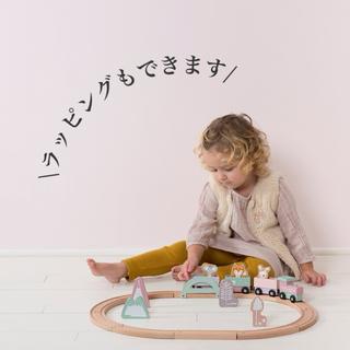 ボーネルンド(BorneLund)のLITTLE DUTCH リトルダッチ ■ トレインレールセット(電車のおもちゃ/車)