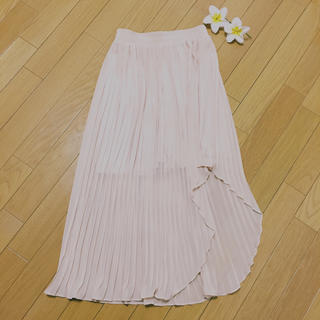 バイバイ(ByeBye)の美品ByeByeプリーツロングスカート (ロングスカート)
