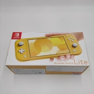 ニンテンドースイッチ(Nintendo Switch)のNintendo Switch Lite イエロー A09(家庭用ゲーム機本体)