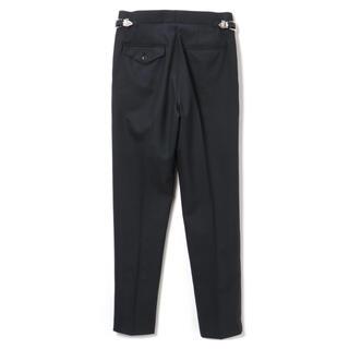 トーガ(TOGA)の新品タグ付きTOGA VIRILIS navy Suiting pants 44(スラックス)