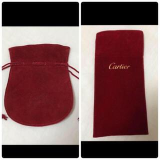 カルティエ(Cartier)のCartier カルティエ / 収納ポーチ 収納袋 アクセサリー入れ(ポーチ)