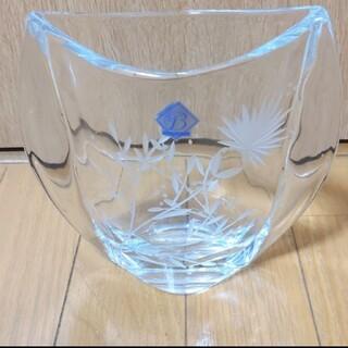 ボヘミア クリスタル(BOHEMIA Cristal)のいこちゃん様専用 ラスカ ボヘミア ガラス フラワーベース 花瓶 (花瓶)