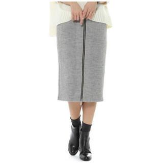 バンヤードストーム(BARNYARDSTORM)の出品終了最終値下げ BARNYARDSTORM リブボンディングスカート(ひざ丈スカート)