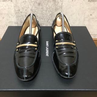 ペリーコ(PELLICO)のPELLICO ペリーコ パテントレザービットローファー ブラック(ローファー/革靴)