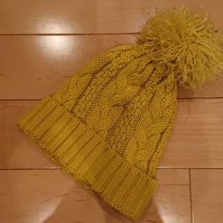 エフオーキッズ(F.O.KIDS)のマスタード ニット帽(帽子)