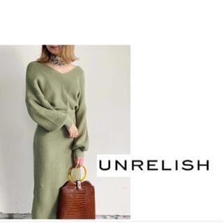 UNRELISH - 新品☆ UNRELISH ニットワンピース