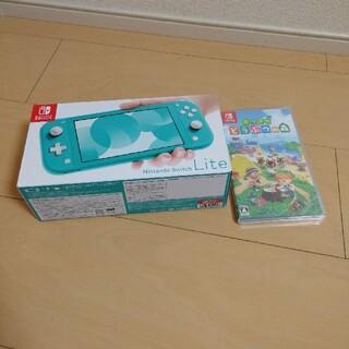 Nintendo Switch  Lite ターコイズ+あつまれどうぶつの森(家庭用ゲーム機本体)
