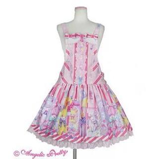 アンジェリックプリティー(Angelic Pretty)のtoydollbox サロペット ピンク(サロペット/オーバーオール)