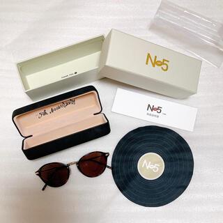 トリプルエー(AAA)のNissy N5 EyeWear サングラス(サングラス/メガネ)