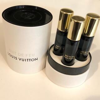 ルイヴィトン(LOUIS VUITTON)のルイヴィトン 香水 ニュイ・ドゥ・フ トラベルスプレー用リフィル 2本(その他)