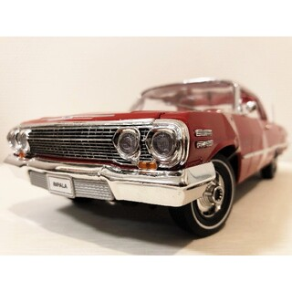 シボレー(Chevrolet)のWellyウェリー/'63 Chevyシボレー Impalaインパラ 1/18(ミニカー)