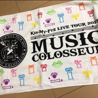 キスマイフットツー(Kis-My-Ft2)のKis-My-Ft2 ライブグッズ タオル(アイドルグッズ)