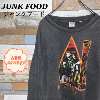 【XLサイズ】junkfood ジャンクフード ロック スウェット トレーナー