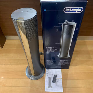 デロンギ(DeLonghi)のDeLonghi デロンギ 空気清浄機機能付きファン 扇風機 ヒーター 美品(空気清浄器)