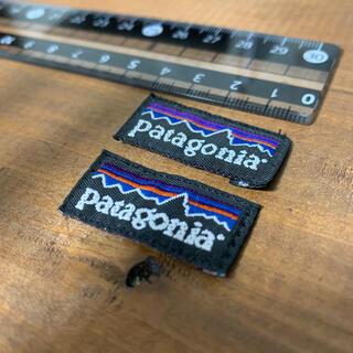 パタゴニア(patagonia)のPatagonia タグ ワッペン 2枚 正規品(各種パーツ)