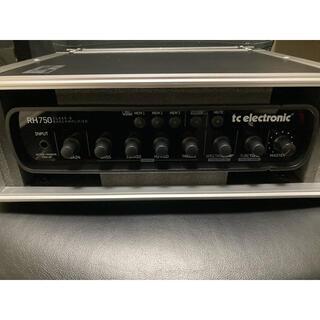 tc electronic RH750 PULSEハードケース付き(ベースアンプ)