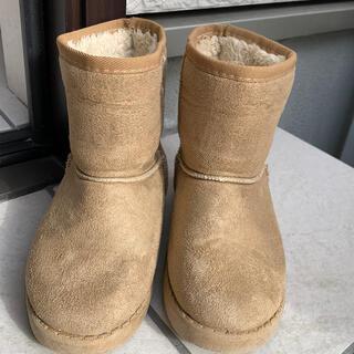 エフオーキッズ(F.O.KIDS)のF.O.KIDS ムートンブーツ 18cm(ブーツ)