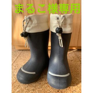ムジルシリョウヒン(MUJI (無印良品))の無印 長靴 13-14cm(長靴/レインシューズ)