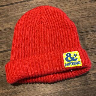 ampersand - AMPERSAND キッズニット帽