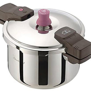 ワンダーシェフ(ワンダーシェフ)のワンダーシェフ 圧力鍋 レシピブック付 5.5L(鍋/フライパン)