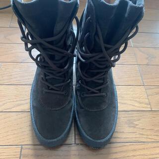 フィアオブゴッド(FEAR OF GOD)のYeezy season 2 crepe boots ダークブラウン 41(ブーツ)