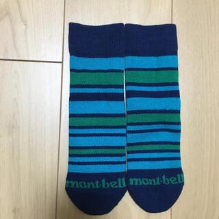 モンベル(mont bell)のmont-bell ウィックロン 冬用靴下 キッズ  17-19㎝(靴下/タイツ)