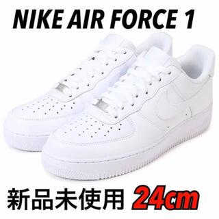 ナイキ(NIKE)のNIKE AIR FORCE 1 LOW 24cm 新品未使用(スニーカー)