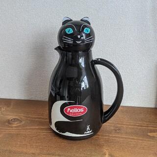 【極美品】ヘリオス サーモキャット 魔法瓶(収納/キッチン雑貨)