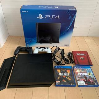 プレイステーション4(PlayStation4)のPlayStation4 プレステ4 本体 500GB CUH-1200A(家庭用ゲーム機本体)