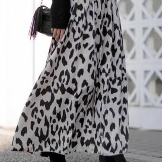 ルームサンマルロクコンテンポラリー(room306 CONTEMPORARY)のAnimal Pattern Maxi Skirt  room306(ロングスカート)