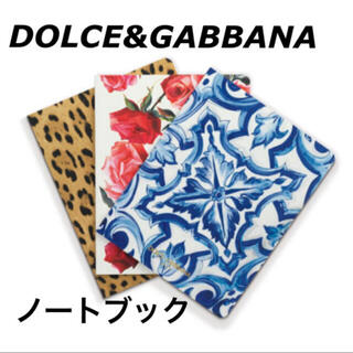 ドルチェアンドガッバーナ(DOLCE&GABBANA)のDOLCE&GABBANA ノベルティ ノート(ノート/メモ帳/ふせん)