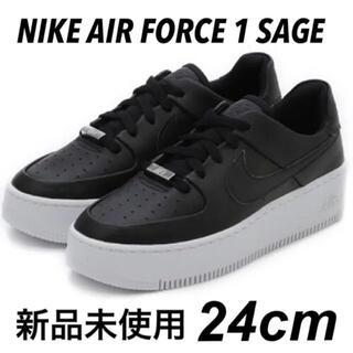 ナイキ(NIKE)のNIKE AIR FORCE 1 SAGE LOW 24cm 新品(スニーカー)