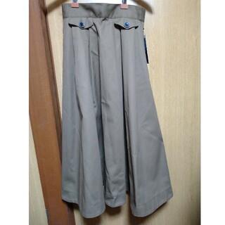 ディッキーズ(Dickies)の新品 Dickies フレアスカート THE SHOP TK カーキMサイズ(ロングスカート)