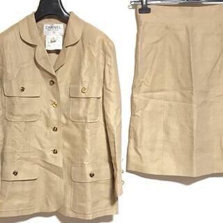 シャネル(CHANEL)のシャネル スカートスーツ サイズ42 L -(スーツ)