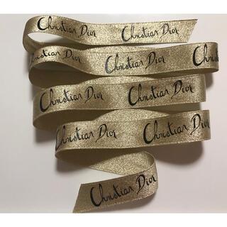 クリスチャンディオール(Christian Dior)のChristian Dior ゴールドリボン(その他)