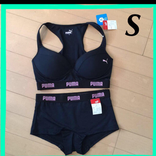 プーマ(PUMA)のPUMA 新品未使用タグ付き スポーツブラとショーツのセット(ブラ&ショーツセット)