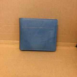 バギーポート(BAGGY PORT)の折りたたみ財布 東急ハンズ 藍染 美品(折り財布)