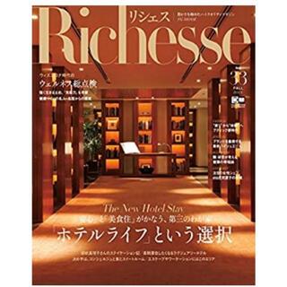 エル(ELLE)のRichesse No.33 リシェス ハースト婦人画報社 2020/FALL(ファッション)