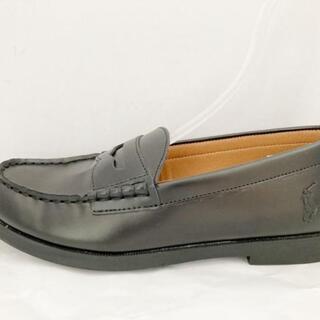 ポロラルフローレン(POLO RALPH LAUREN)のポロラルフローレン ローファー 23.5美品 (ローファー/革靴)