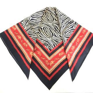 ジムトンプソン(Jim Thompson)のジムトンプソン スカーフ美品  シルク(バンダナ/スカーフ)