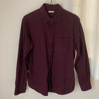 ユニクロ(UNIQLO)のフランネルシャツ メンズS(シャツ)