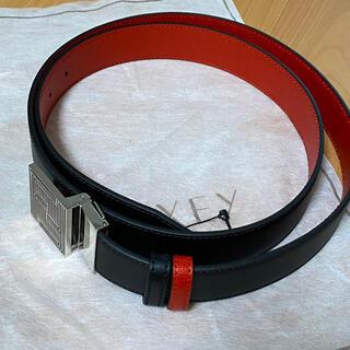フェンディ(FENDI)のFENDI ベルト 新品 ブラック×赤(ベルト)